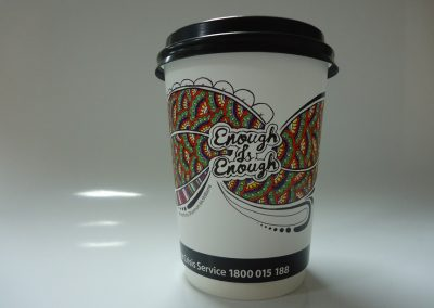 Disposable coffe cup