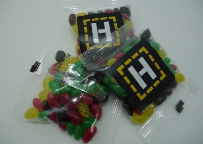 Promotional jelly beans