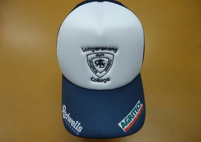 Sublimated & Embroidered trucker hat