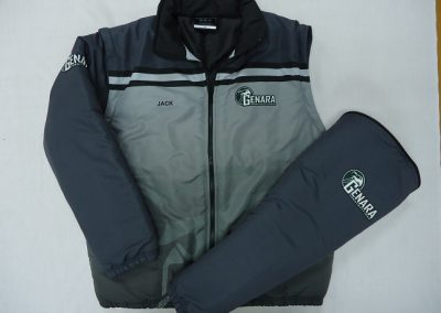 Sublimated Jacket with zip off sleeves