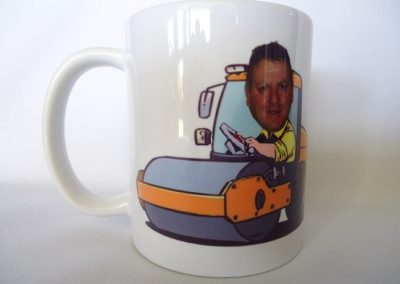 Sublimated mug