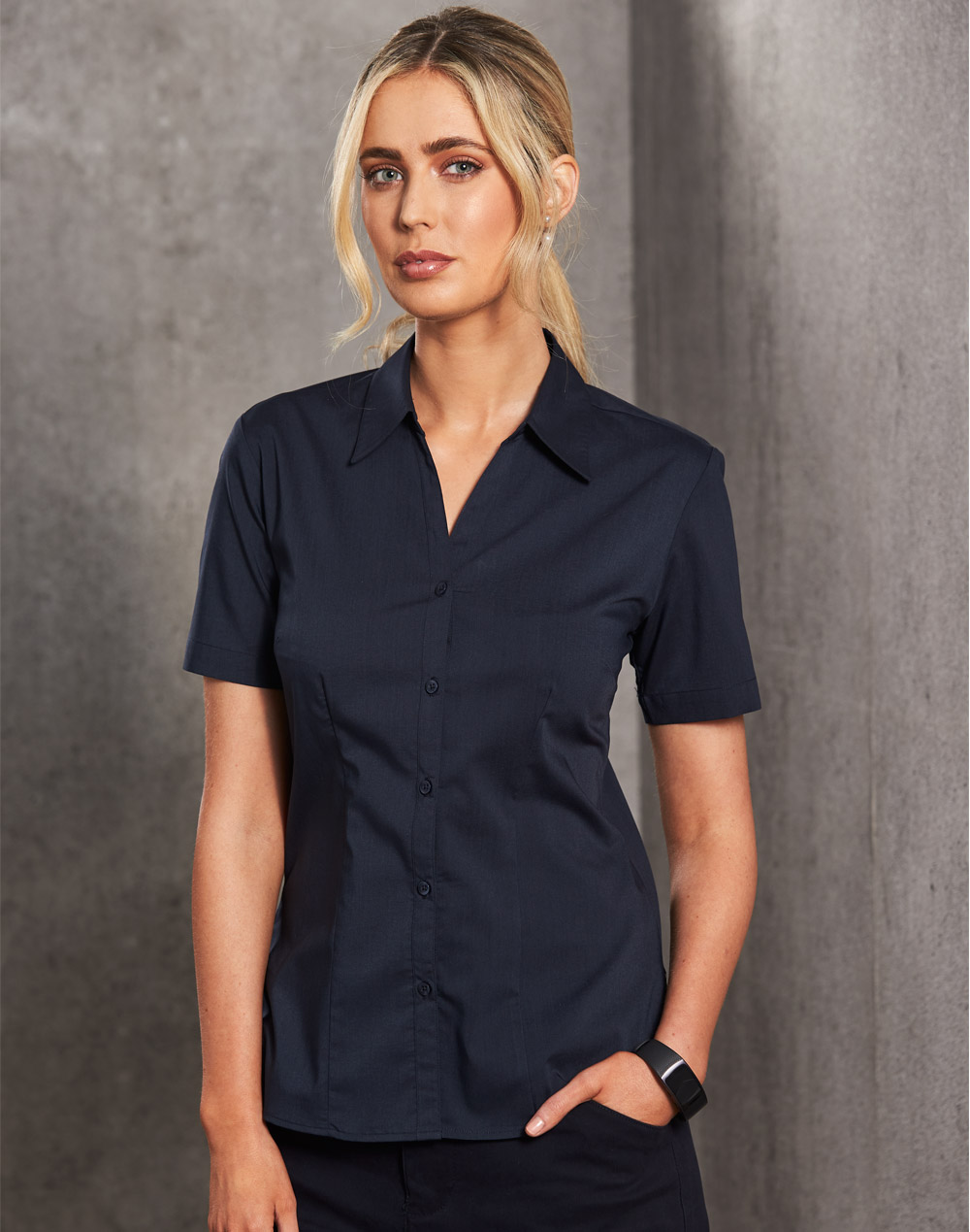 BS07S Executive Lady Short Sleeve