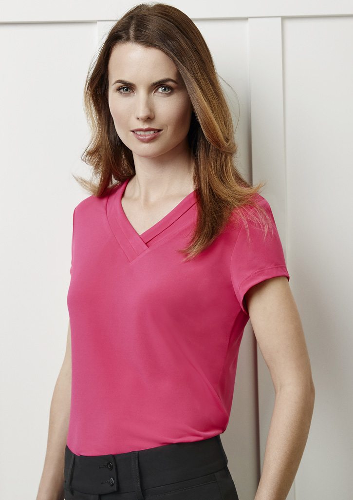 Ladies Lana Short Sleeve Top