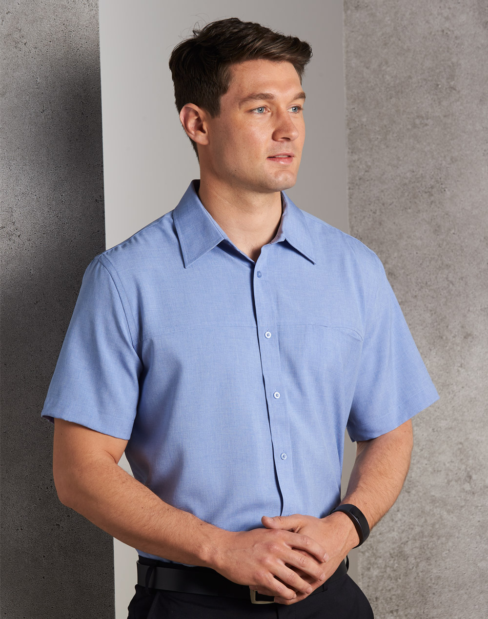 M7600S Men's CoolDry Short Sleeve Shirt