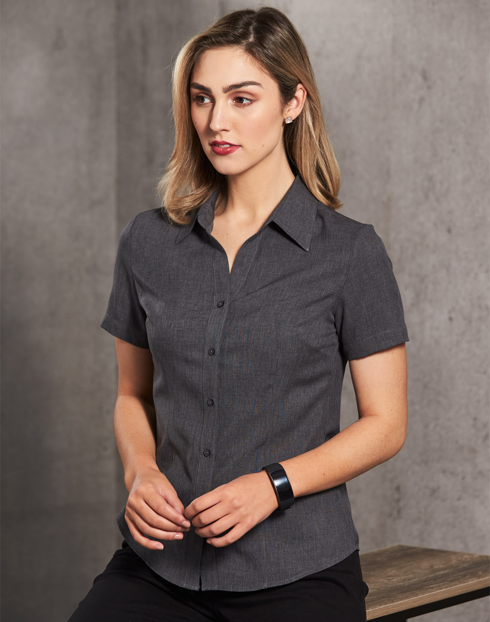 M8600S Women's CoolDry Short Sleeve Shirt