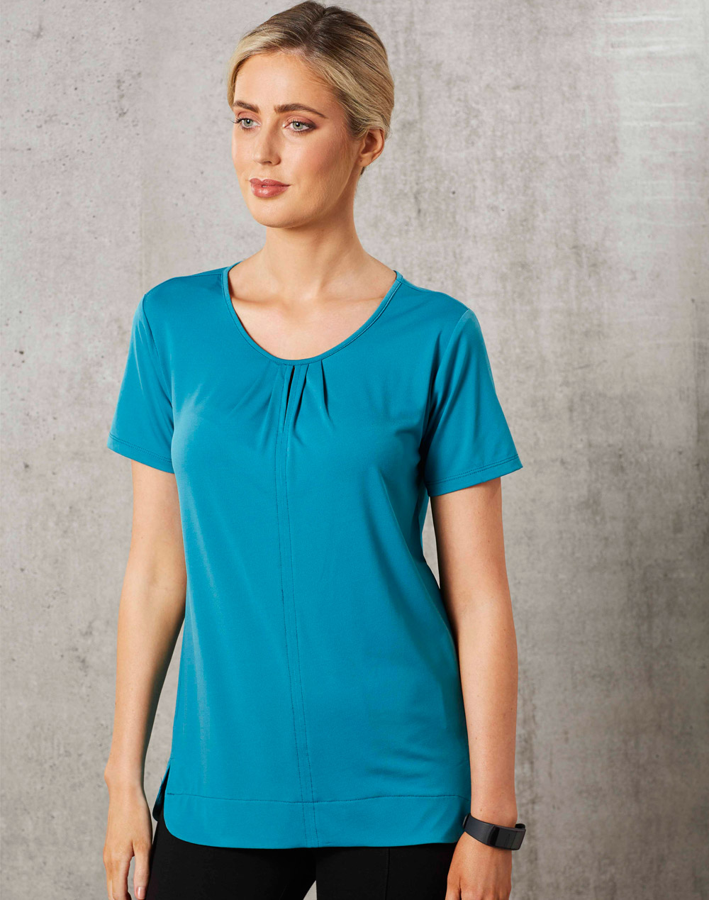 M8850 LADIES SHORT SLEEVE TOP JULIA