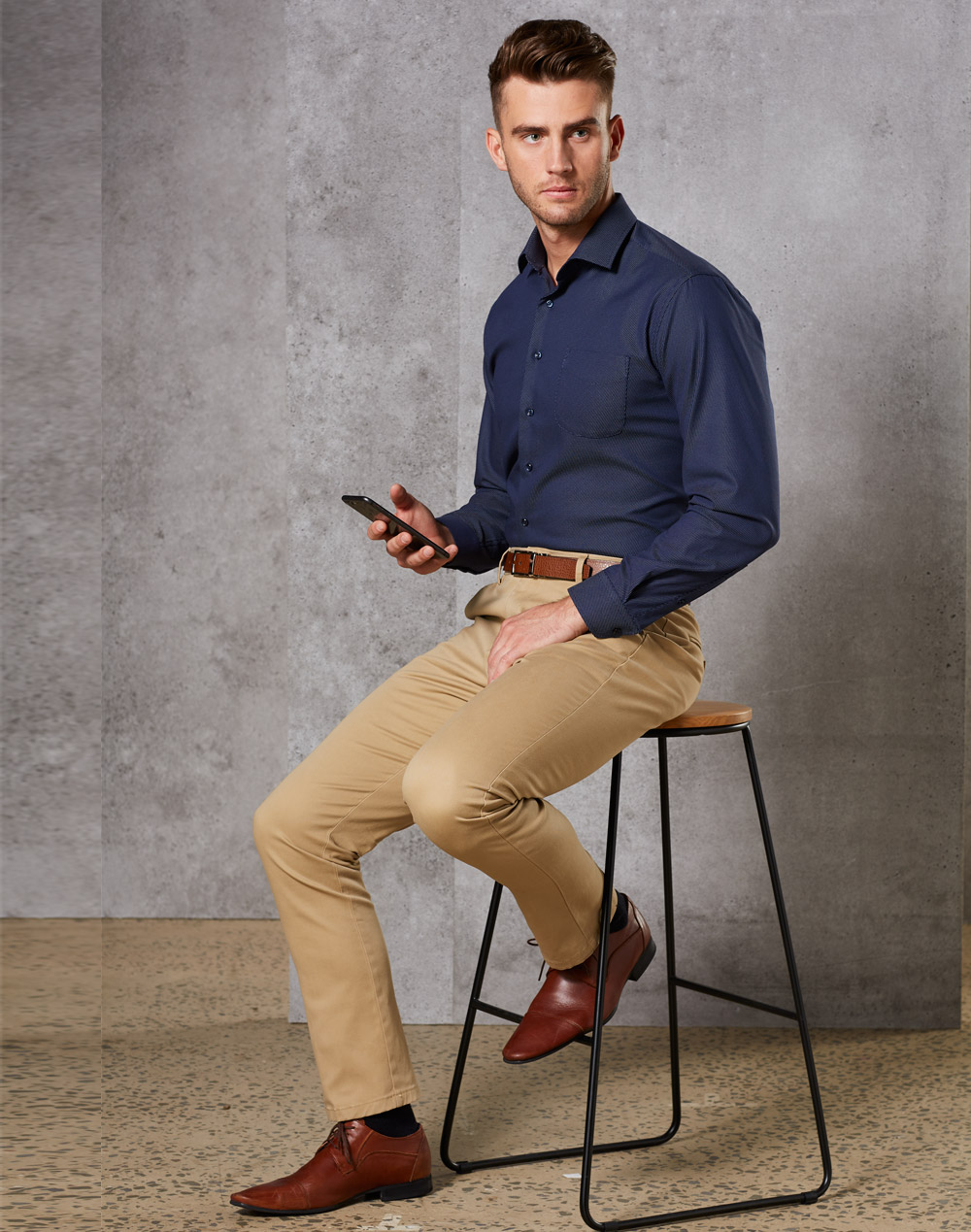 M9380 MENS BOSTON CHINO
