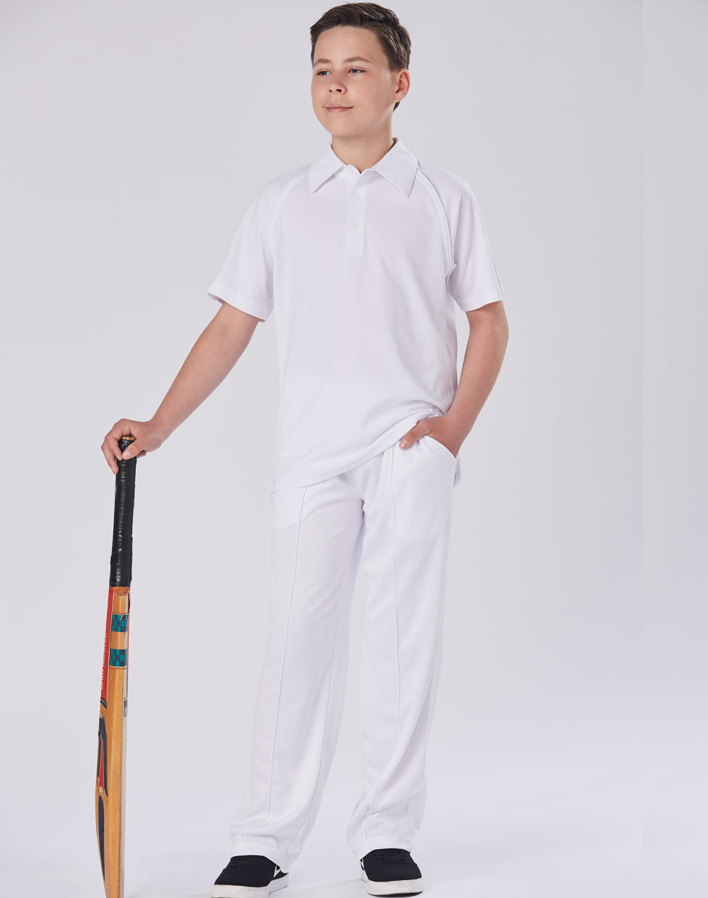 PS29K CRICKET POLO Short Sleeve Kids'
