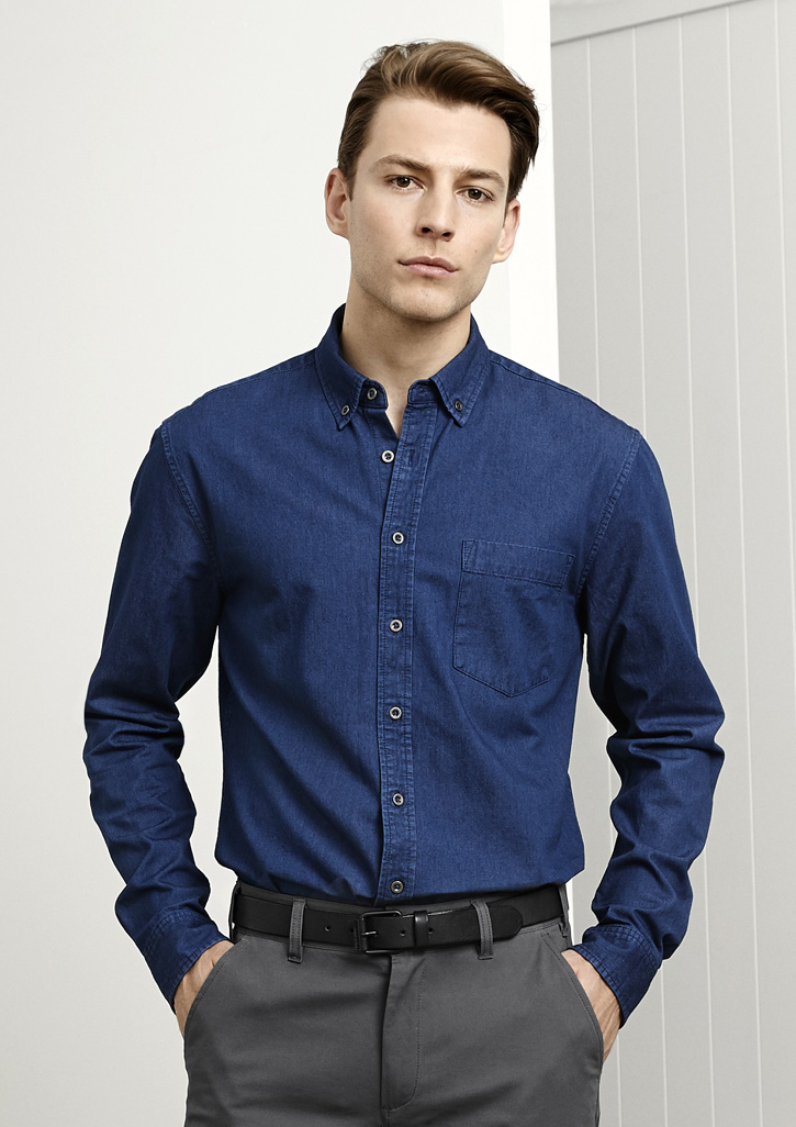 Indie Mens Long Sleeve Shirt