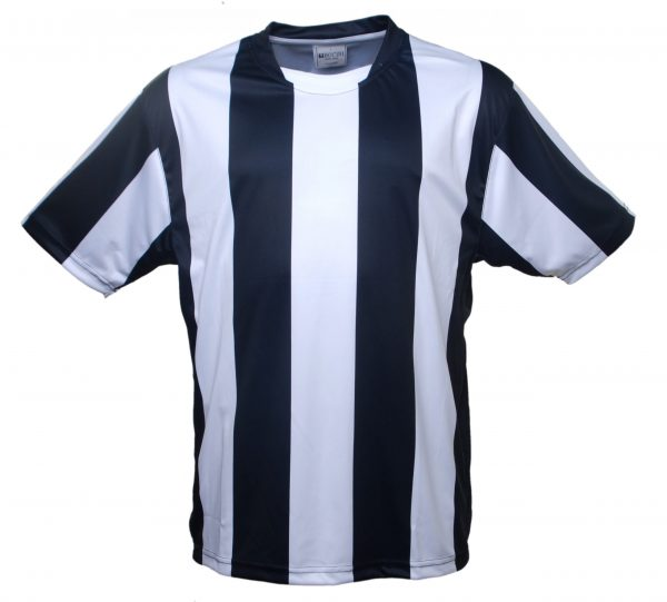 Kids Sublimated Striped Football Jersey