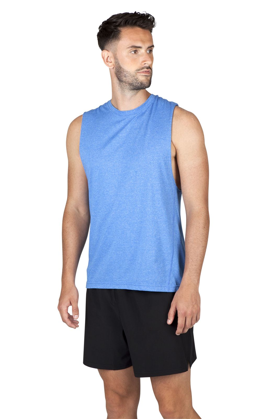 Mens Heather SLEEVELESS Tee - Greatness Range