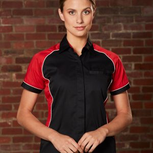 BS16 Women's Arena Tri-colour Contrast Shirt