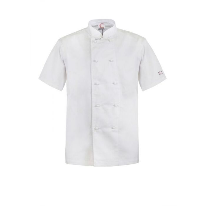 CLASSIC CHEFS JACKET - SHORT SLEEVE