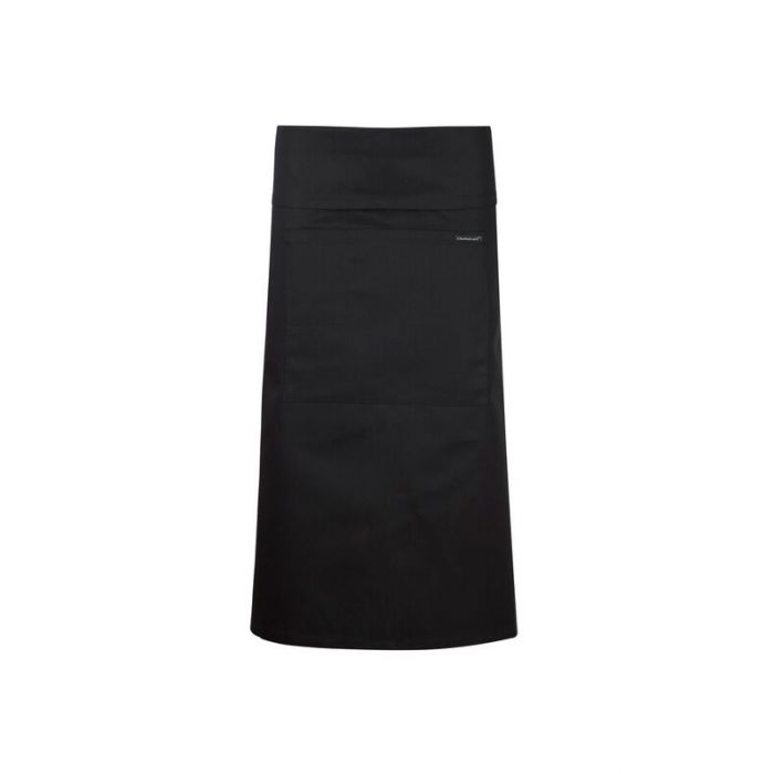 3/4 LENGTH APRON WITH POCKET AND FOLD OVER