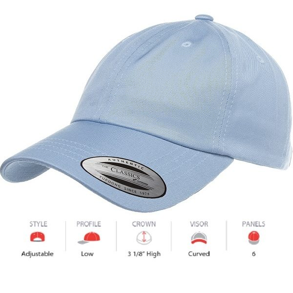 6245CM Low Profile Cotton Twill Dad Hat