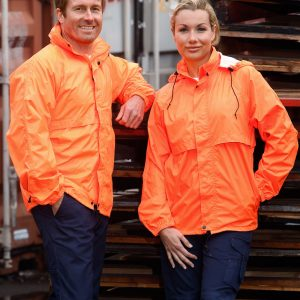 SW27 HI-VIS SPRAY JACKET