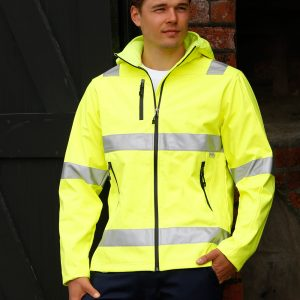 SW30 HI-VIS SAFETY JACKET-unisex